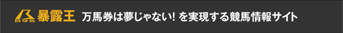 【暴露王】万馬券は夢じゃない!を実現する競馬情報サイト