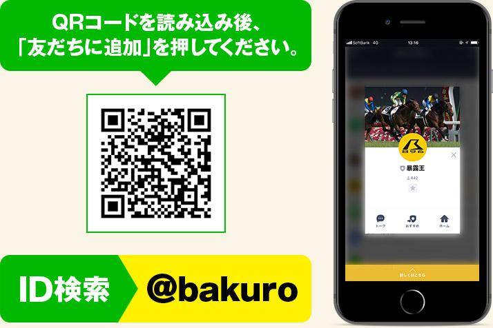 暴露王LINE→ID検索は@bakuro